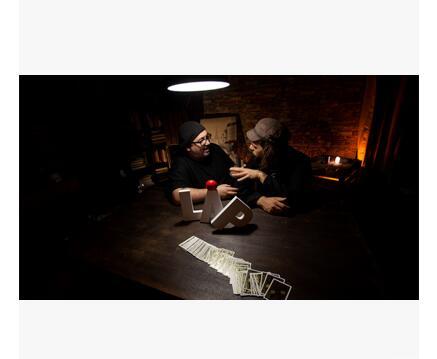 2016 RUNDE durch Juan Tamariz, Yann Frisch und Dani DaOrtiz 1-5-Magic tricks