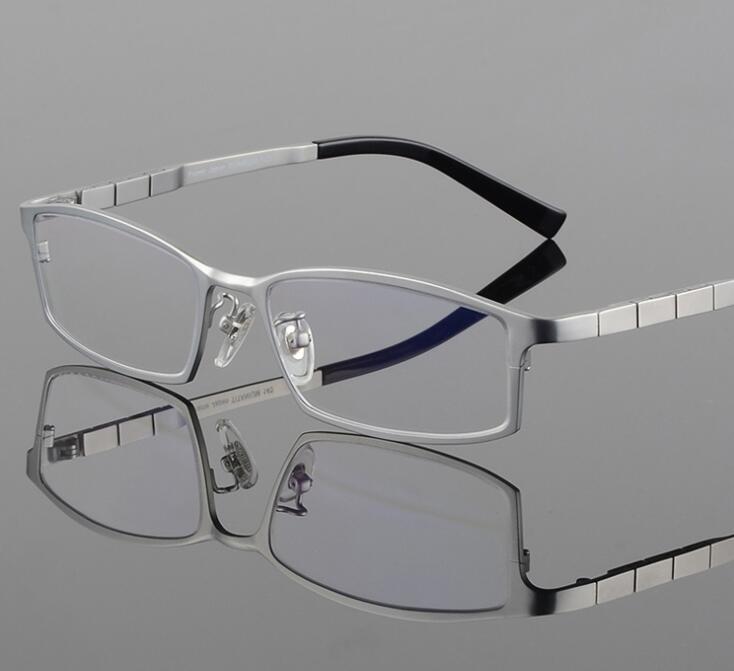 Typ Brillengestell für Männer Reine farbe Kunststoff Titan TR90 ...