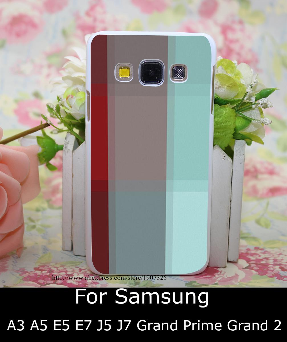 1209 PR Burgundy font b Tartan b font Hard White Case Cover for Samsung galaxy A3