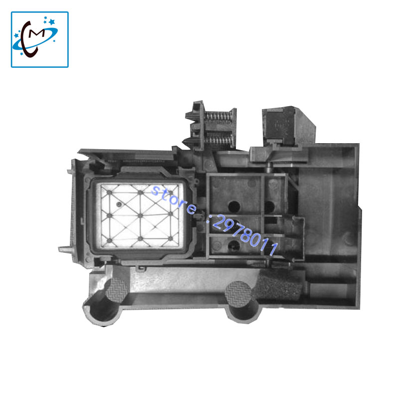 все цены на  hot sale Mutoh 1604 1604E 900C dx5 solvent head cleaning capping station  assembly lecai outdoor printer ink stack part  онлайн
