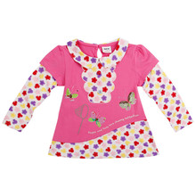 nova baby clothing Girls T shirt long sleeves Fashion Children T shirts Cotton Baby Girls Tshirts for  nova kids Girls Kids Tops