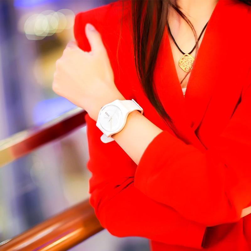 Swatch Watch quartz watch original colorful neutral white Innocent women's casual fashion SUOW701 swatch original colorful quartz watch suob135