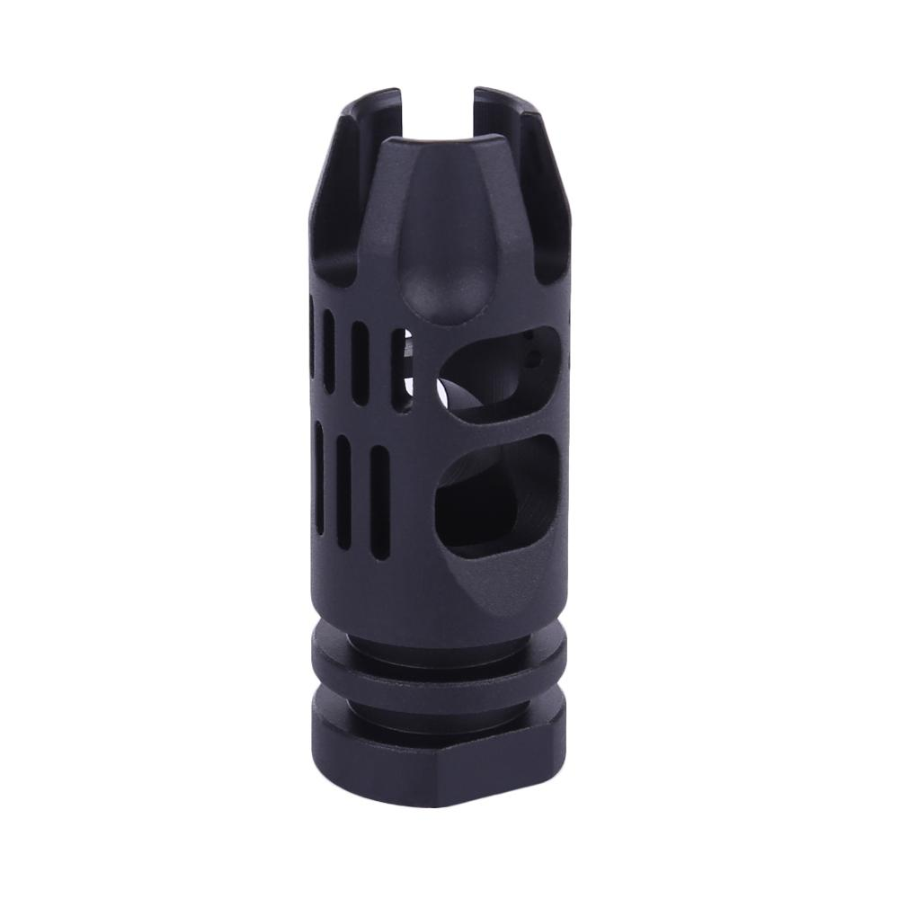 MODIKER 14mm Hole Decorative Cap for JM 9 Reverse Thread Barrel JM9/ JINMING GEN.9 Water Gel Blaster- Black