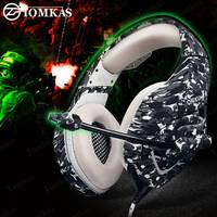 K1 PS4 Gaming Headset Stereo Game Headphones Wired Earphones Best Casque with Mic for New Xbox One PC/Laptop Tablet Gamer