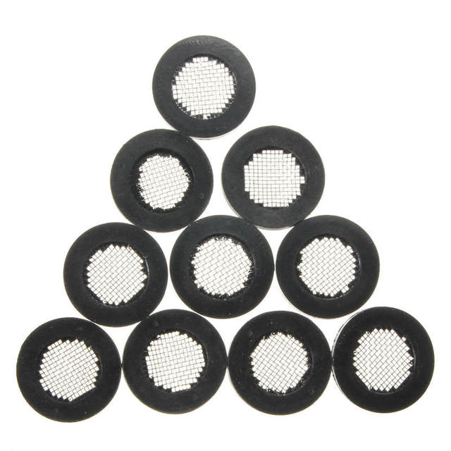 MTGATHER 10pcs Filter Rubber Gaskets Washer with Stainless Steel ...