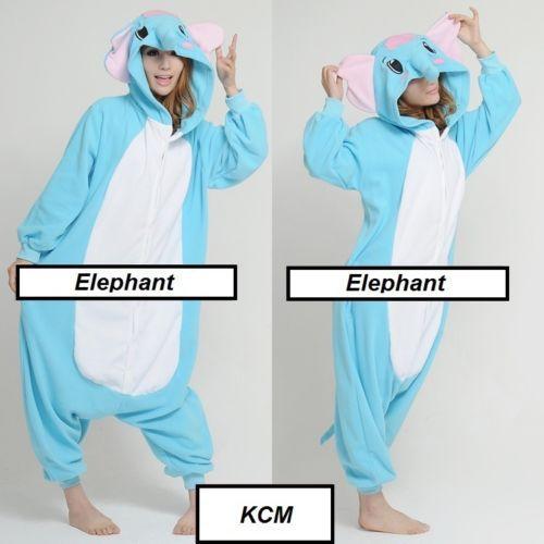 Fashion Men/Women Minions Animal Onesies Animal Onesies pets Pyjamas/Pajama Elephant sleepwear for adult
