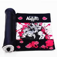 Heiße Neue Japan Anime Naruto Schreiben Fall Akatsuki Blättern Bleistift Stift Tasche Cosplay Requisiten Schwarz Leinwand