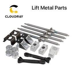Cloudray motorisierte up und unten tisch plattform Lift Metall Teile für CO2 Schneiden und Gravieren Maschine