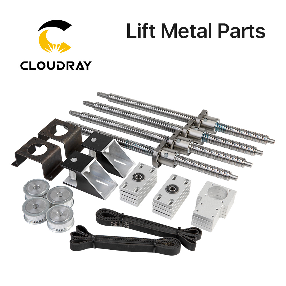 Cloudray Motorized Up And Down Table Platform Lift Metal Parts For CO2 Cutting And Engraving Machine