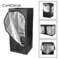 CellDeal Premium Wachsen Zelt Silber Mylar Indoor Knospe Box Hydro Dunklen Raum Größen Wachsen Zelt Oxford Tuch Wachsen Zelt Hydrokultur