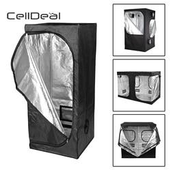 Celldeal premium crescer tenda de prata mylar interior caixa bud hidroponia quarto escuro tamanhos crescer tenda pano oxford crescer tenda hidropônica