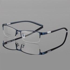 Image 5 - Eyewear סגסוגת משקפיים מסגרת גברים משקפיים אופטיים מרשם משקפיים זכר מחזה לגבר Eyewear