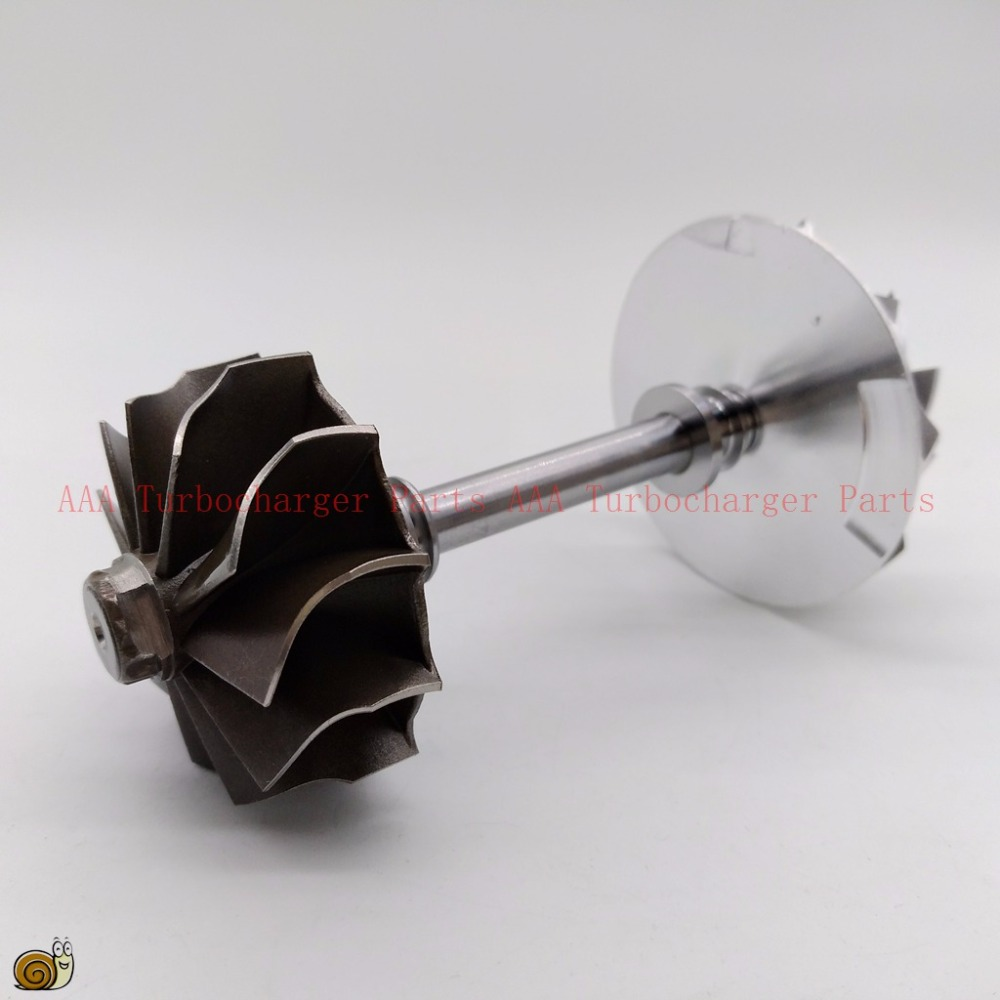 RHF4 Turbo parts turbine wheel 39.9x44mm,blades11,compressor wheel 37.5x52.5mm,blades10,Supplier AAA Turbocharger Parts k16 turbo billet compressor wheel 44 3x63 4mm 5316 970 7010 5316 970 7013 9040964299 9040965299 aaa turbocharger parts