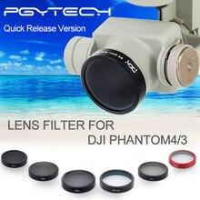 DJI phantom 3 HD UV filtre ND4 + ND8 + ND16 + CPL + MCUV filtre + Lens Cover drone avec caméra RC Quadcopter FPV drones Livraison Gratuite