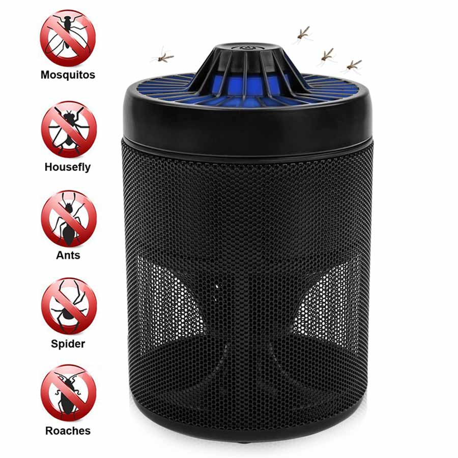 LMID USB Mosquito Trap Electronic Mosquito Killer Eco-friendly Mosquito Insect Inhaler Lamp Pest Control for Indoor Outdoor rat catcher spring cage new 1 pieces trap outdoor humane live indoor animal rodent pest control mice cage garden home house