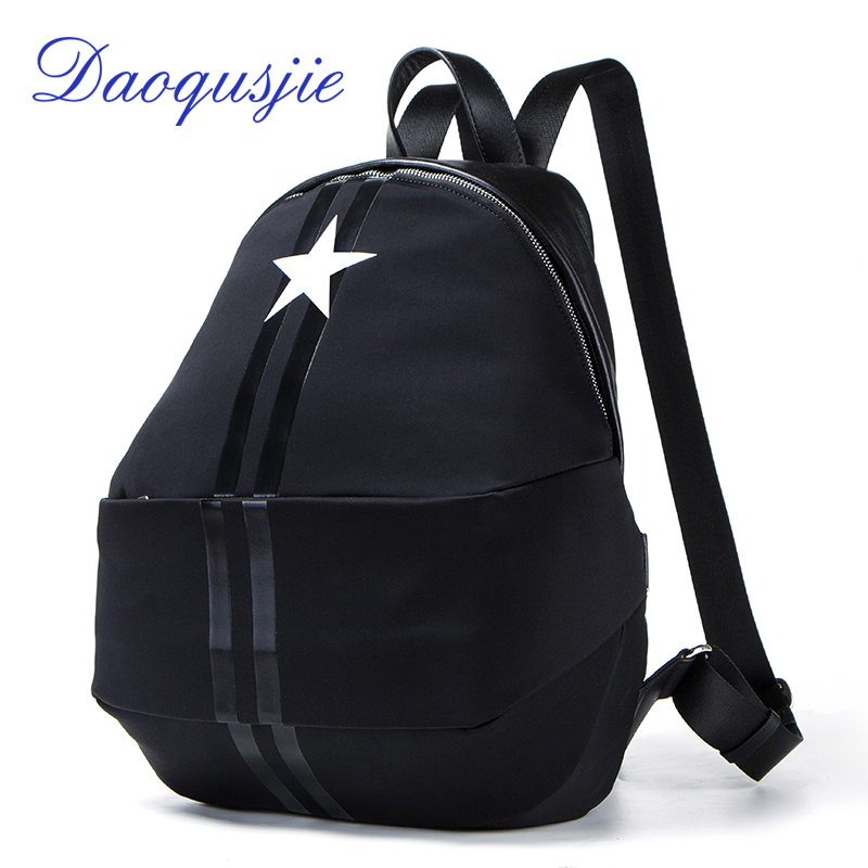 fashion women's backpack nylon waterproof bagpack men school bag leather soft backpacks for women small travel bags for girls wanu 2016 fashion women backpack leather black shoulder bag big school bags for teenagers girls travel bagpack waterproof