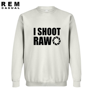Image 4 - סגנון חדש אני לירות גלם מצחיק צלם מתנה ארוך שרוול גברים מקרית נים, חולצות
