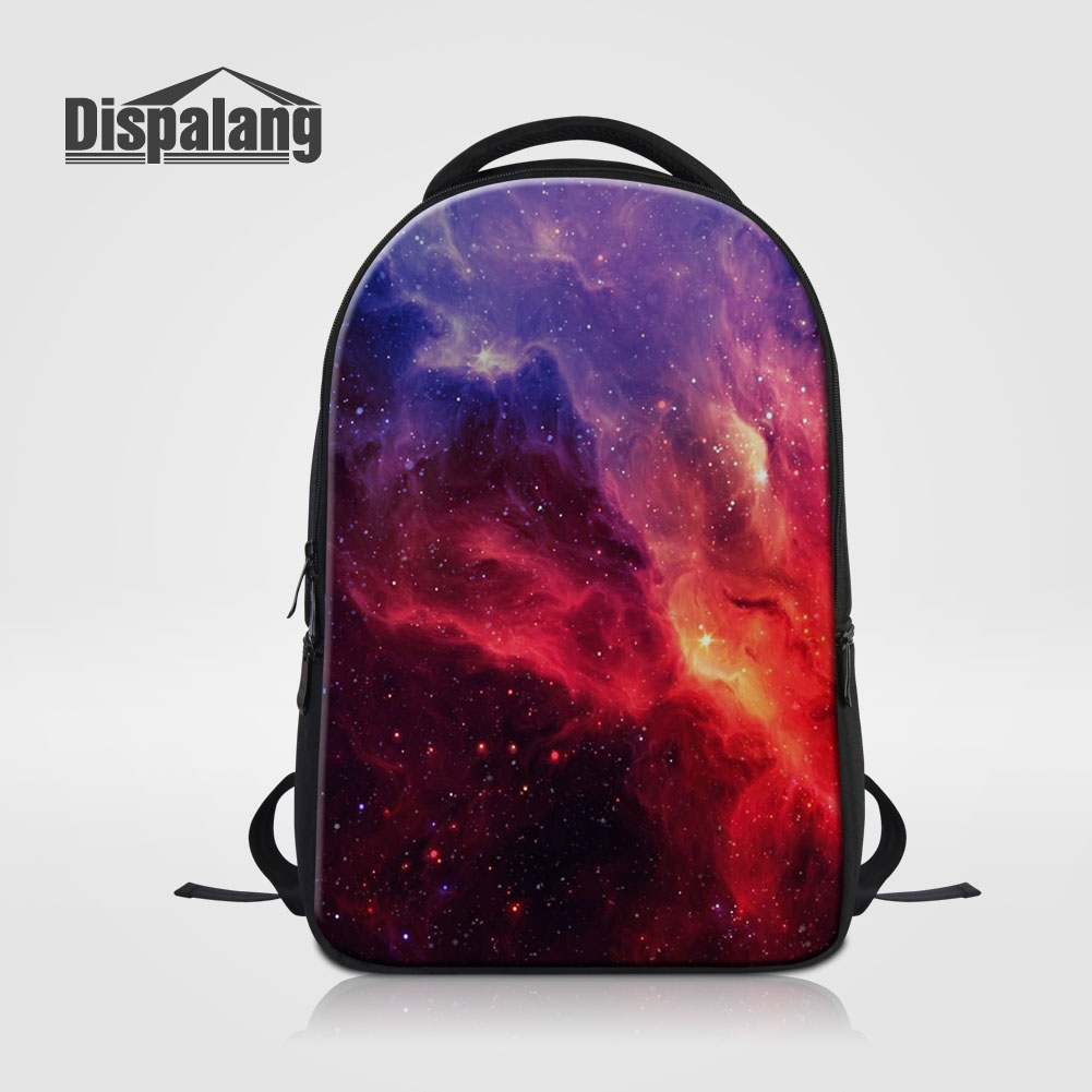 Dispalang Personality Galaxy Women's Backpack School For Girls Universe Space Print Schoolbags Bookbags For Teens Mochila Rugzak