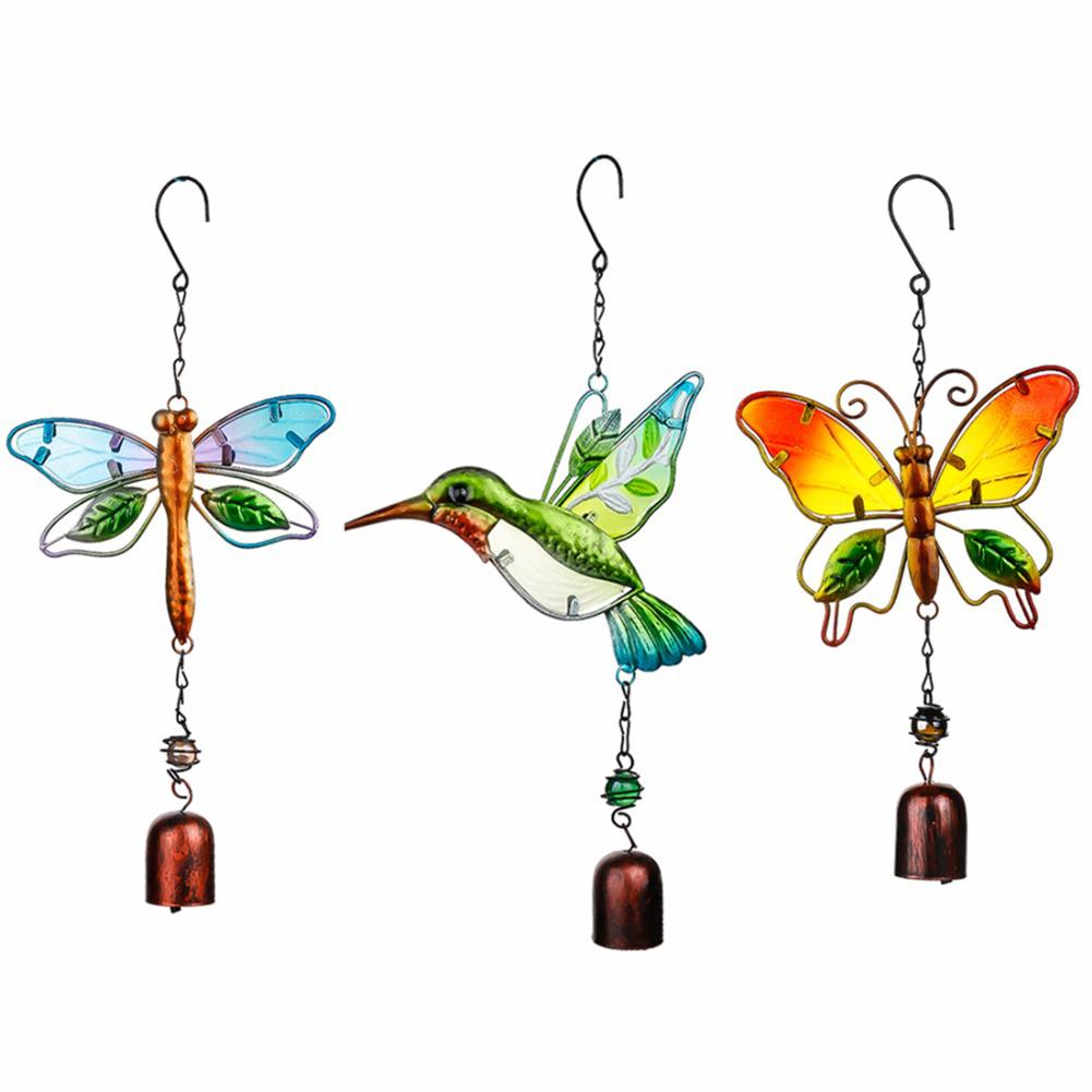 Innovative Handmade Bird Wind Chimes For Outdoor Wall Doors Windows Wind Chimes Hanging Ornaments Home Decorative Crafts