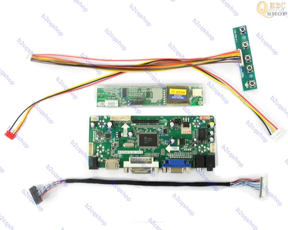 hdmi + Dvi + Vga + Audio Lcd Controller Board Kit Inverter Kit Für 13,3 lp133wx1 n3 tl 1280x800 Lp133wx1 Tln3 Gerade