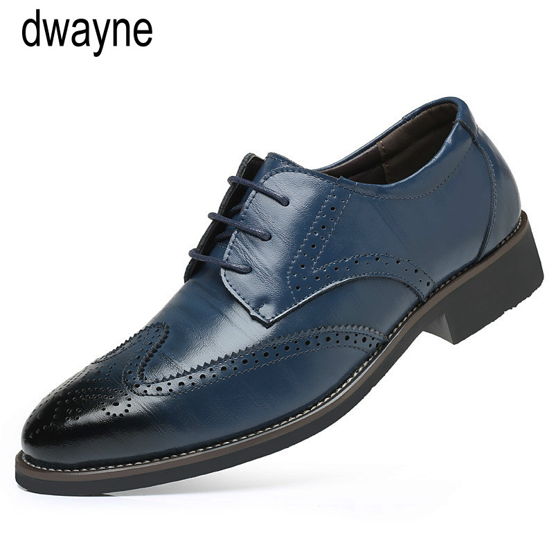 Men's Shoes Summer Mesh Spring Leather Dress Shoes Breathable Men Formal Business Oxfords Plus Size 38-48 For Sale Dress Shoes For Men Strong Resistance To Heat And Hard Wearing