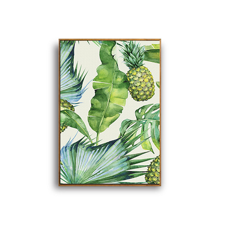 3f2f8da3416 HAOCHU Nordic Poster Hawaii Tropical Forest Tree Art Print Canvas Painting  Monstera Leaf Landscape Picture Home Wall Decor-in Painting   Calligraphy  from ...