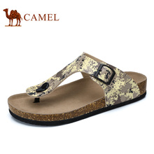 Camel Men's Reef Flip Flop Comfortable Slip On Thong Sandal Beach Shoes with Buckle Strap A722108113