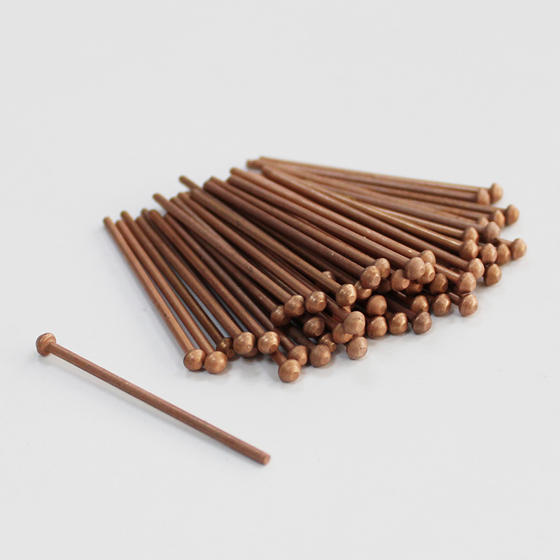 50pcs Copper Coated Draw Pins 2.0mm & 2.5mm Spot Welding Studs Dent Puller For Car Body Repair Tools