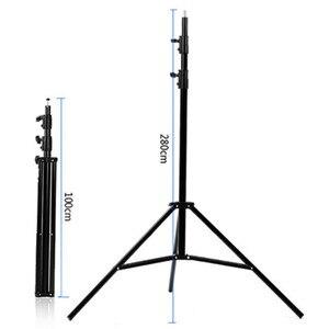 Image 4 - SN303 260cm Studio flash Light stand tripod Ajustable Photo Studio Accessories For Softbox Photo Video Lighting Flashgun Lamps