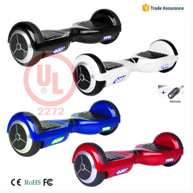 "Cheap 6.5"" Self Balancing Scooter 2 Wheel Electric Hover Board Scratchproof Samsung Battery Hoverboard Skateboard"