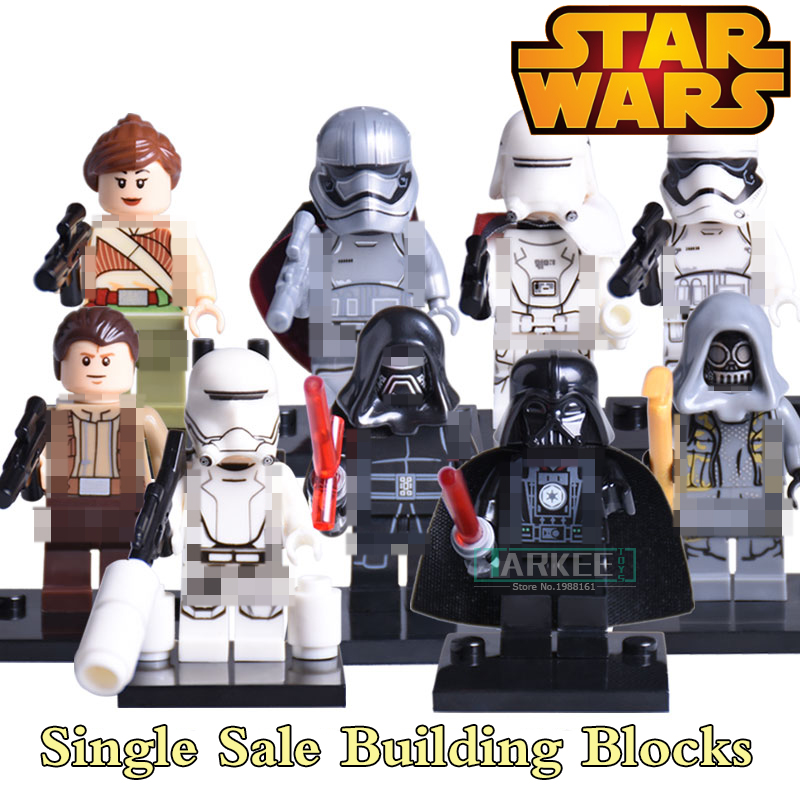 Building DIY Blocks Star Wars 7 The Force Awakens Captain Phasma Kylo Ren Organa Children Classic Models Bricks Kids Toys X0103 наземный низкий светильник favourite zagreb 1805 1t