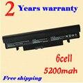 Jigu bateria do portátil para samsung n150 n230 n218 n143 n145 n148 preto
