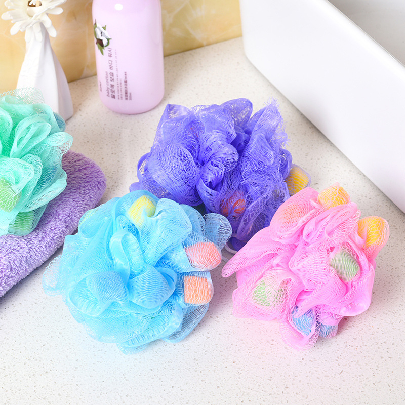 Cleaning Bath Sponge Muilticolor Shower Flower for Bath 1