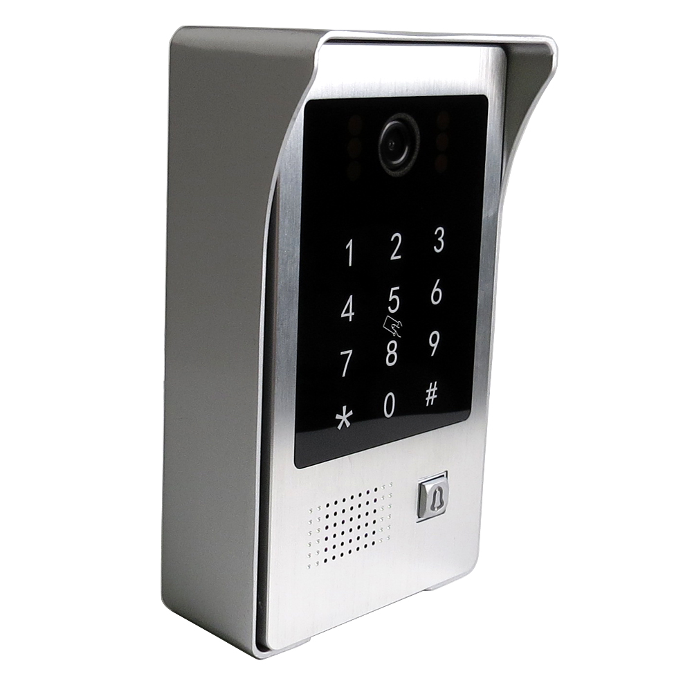 Free Shipping POE Code Keypad IC Waterproof Doorbell Camera It only work with our own monitor