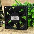 Entrega gratuita. nueva original 8020 12 v 0.24 A DSB0812HHD 2 aceite de la línea caso de ventiladores de refrigeración