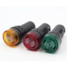 AD16-22sm индикатор зуммера световая сигнальная лампа вспышка зуммер 12 V 24 V 220 V 380 V
