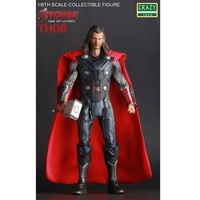 1pc 30 cm Thor Display Action Figure Toy Anime Avengers Super Hero Thor Model Doll Jouet Children Birthday Gift Toys