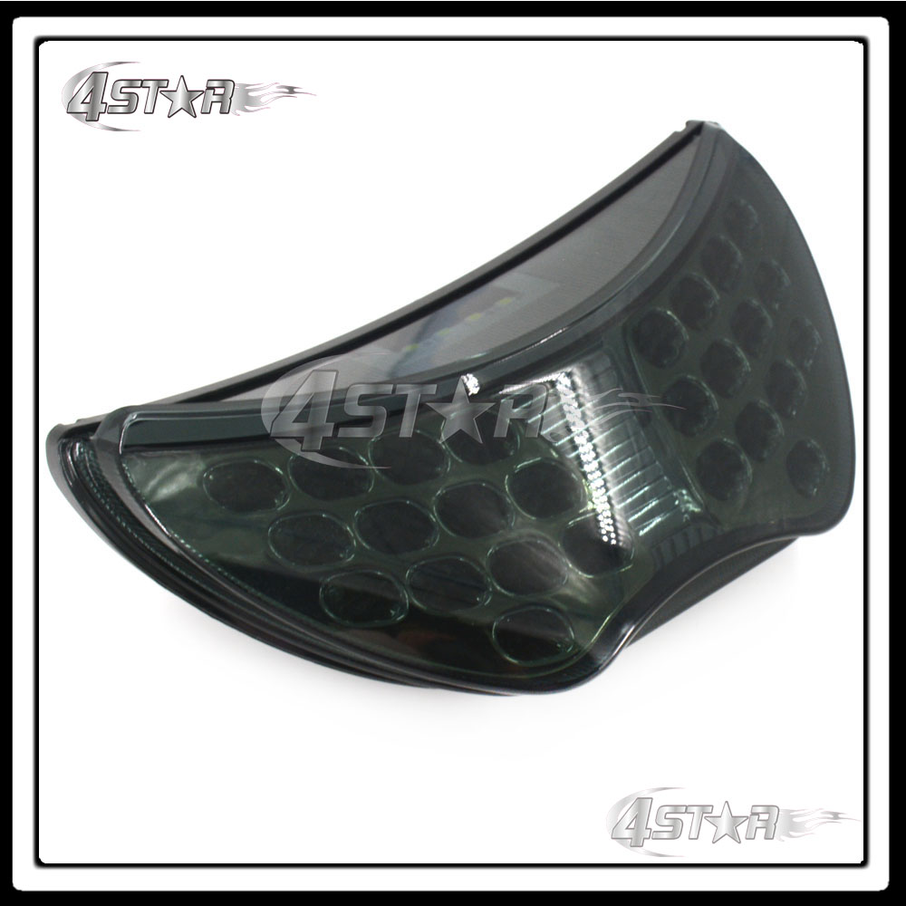 Somke LED Rear Turn Signal Tail Stop Light Lamp Integrated Brake Light For CBR 600 CBR600 F4 1999 2000 99 00 F4I 2004 2005 2006
