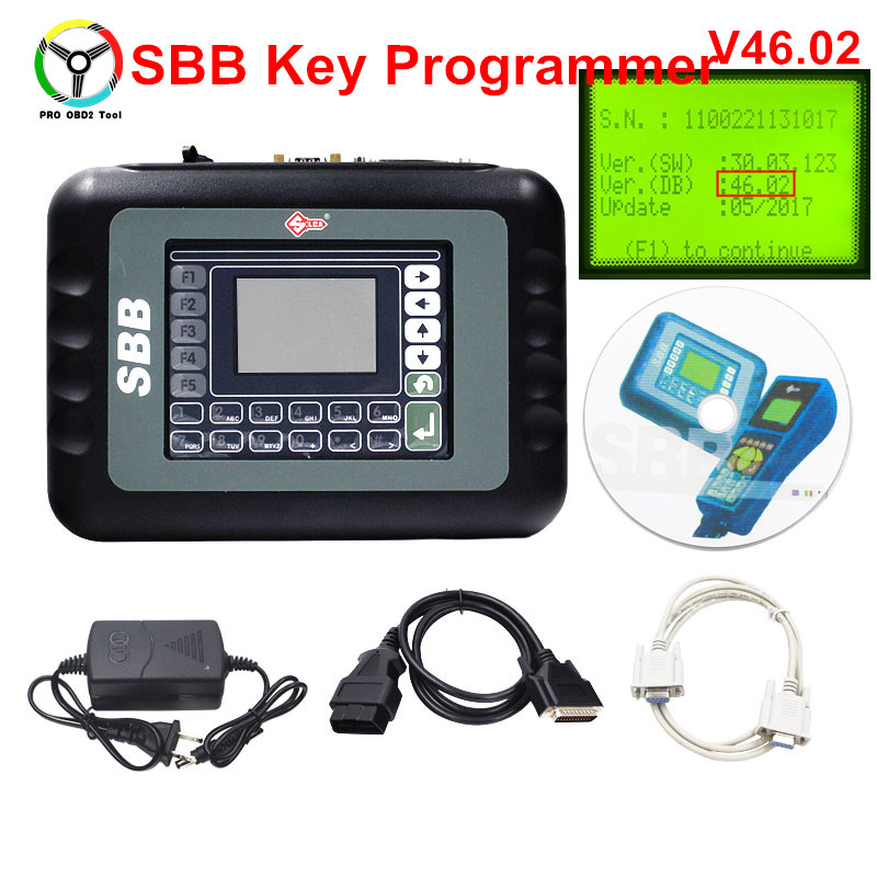 Professional Universal Silca SBB Auto Key Programmer Key Maker SBB V46.02 Support 9 Languages No Tokens Limited As CK100 V46.02 carcode 2016 top rated professional r270 for bmw cas4 bdm programmer auto key programmer r270 cas4 free shipping