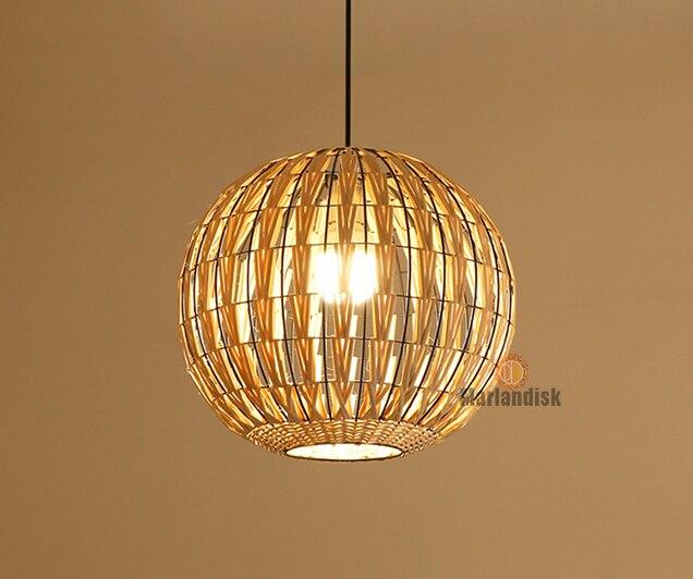 Специальная металлическая Подвесная лампа из ротанга Cany Art E27 подвесной светильник для гостиной спальни столовой внутренней декоративной лампы