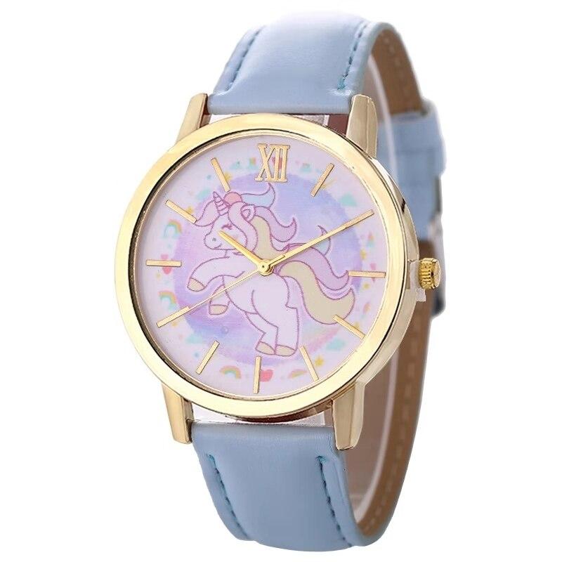 New Unicorn Children's Watch Lovely Fashion Girl Quartz Watch