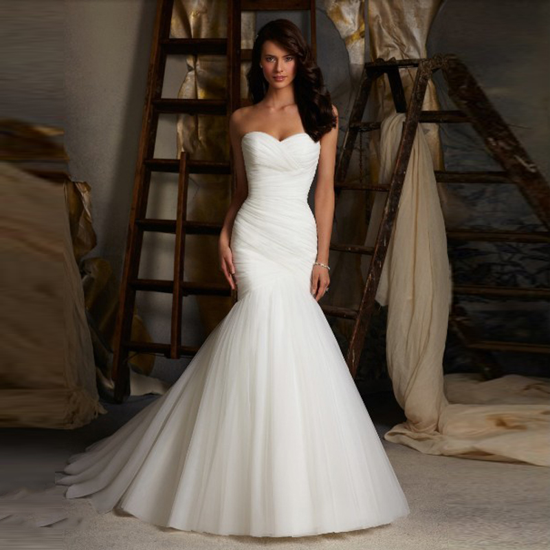 Online Get Cheap Trumpet Mermaid Wedding Gowns -Aliexpress.com ...