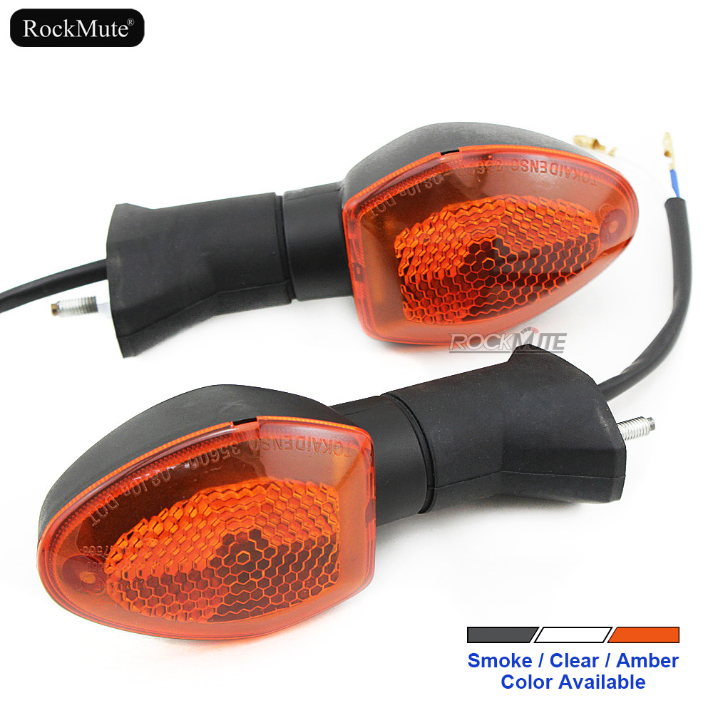 Front/Rear Turn Signal Indicators For <font><b>Suzuki</b></font> <font><b>GSX</b></font>-<font><b>R</b></font> <font><b>600</b></font>/<font><b>SRAD</b></font> GSXR 750 K1/K4 2001-2005, GSXR 1000 2001-2004 Motorcycle Bulb Lights image