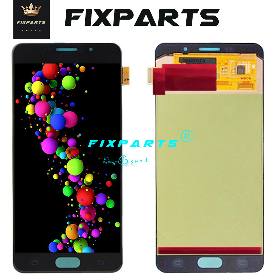 Super AMOLED For SAMSUNG GALAXY A7 2016 A710 LCD Display Touch Screen Digitizer Assembly Replacement For 5.5 SAMSUNG A710 LCDSuper AMOLED For SAMSUNG GALAXY A7 2016 A710 LCD Display Touch Screen Digitizer Assembly Replacement For 5.5 SAMSUNG A710 LCD