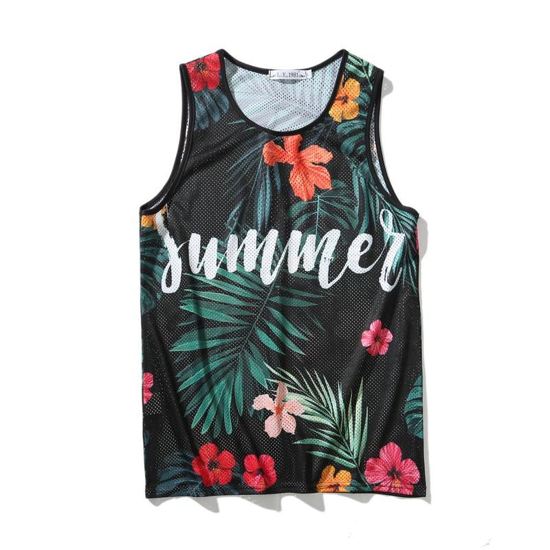 Men clothes 2019 Fashion Tank Tops Men Hip hop Sleeveless Vest  ropa hombre 3D Print Bodybuilding 9 styles regatas masculino