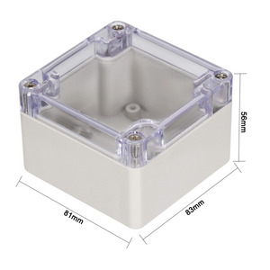 Image 5 - Uxcell 200x120x56mm Wateproof Electronic  Junction Project Box ABS Plastic DIY Enclosure Case Outdoor/Indoor Boxes 158x90x60mm
