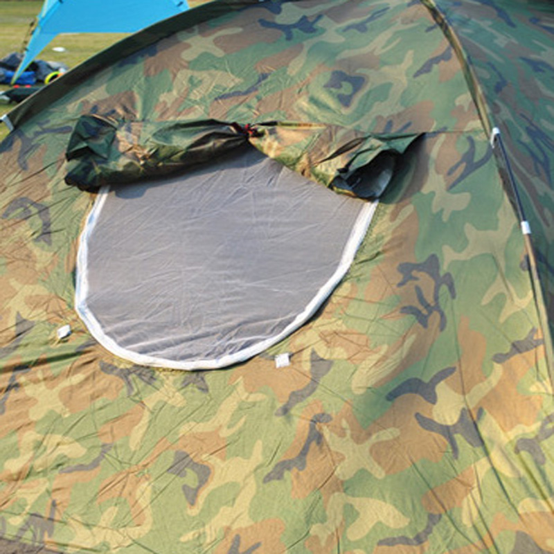 Image 5 - 1 4 Person Portable Outdoor Camping Camouflage Tent Outdoor Camping Recreation Double Couple Camping Tent Ultraviolet proof Tent-in Tents from Sports & Entertainment