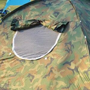 Image 5 - 1 4 אדם נייד חיצוני קמפינג הסוואה אוהל חיצוני קמפינג בילוי כפול זוג קמפינג אוהל אולטרה סגול הוכחה אוהל