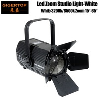 TIPTOP STAGE LIGHT TP 025 White Color Professional Zoom Led Studio Lighting 200W COB High Power Manual Zoom Power IN/OUT Con