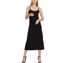 Платье-комбинация, черное нижнее белье, длинное платье-комбинация для женщин, нижнее белье, сексуальное нижнее белье, Нижняя юбка, женская одежда